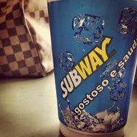 Photo taken at Subway by Ana Lydia S. on 2/21/2013