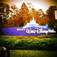 Photo taken at Walt Disney World Entrance by Mike M. on 12/13/2012