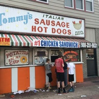 Photo taken at Tommy's Italian Sausage by Dan B. on 4/13/2014