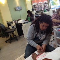 Photo taken at V N Nails by Anitra on 11/18/2012