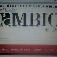 Photo taken at Diario Cambio by Alan on 5/4/2015