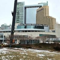 Photo taken at Metro Toronto Convention Centre - South Building by Gustavo A. on 3/3/2013