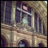 Photo taken at Frankfurt (Main) Hauptbahnhof by Shony S. on 10/12/2012