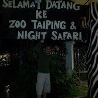 Photo taken at Zoo Taiping & Night Safari by Rahimy M. on 11/15/2012