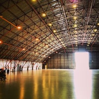 Photo taken at Barker Hangar by Norman T. on 7/21/2013