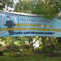 Photo taken at Kolam Renang Mutiara Sentul by Abi E. on 5/9/2013