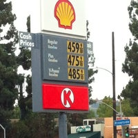 Photo taken at Shell by Russell T. on 10/20/2012