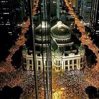Photo taken at Theatro Municipal do Rio de Janeiro by Thiago D. on 6/18/2013