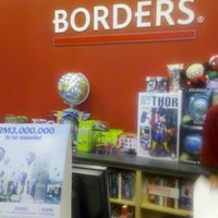Photo taken at Borders by Muhammad K. on 12/27/2012