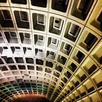 Photo taken at Capitol South Metro Station by Lindsay H. on 11/18/2012