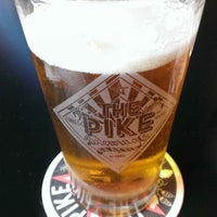 Photo taken at Pike Brewing Company by Justin D. on 7/18/2013