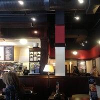 Photo taken at Corner Bakery Cafe by Burcu E. on 11/8/2012