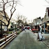 Photo taken at Olde Mystic Village by Spencer I. on 12/15/2012