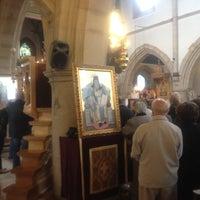 Photo taken at St Demetrious Orthodox Church by Garry K. on 9/23/2012