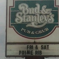 Photo taken at Bud & Stanley's Pub & Grub by Heather S. on 10/19/2012