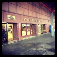Photo taken at Metra - LaSalle Street by Bill H. on 10/19/2012