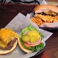 Photo taken at Corner Burger by R L. on 2/1/2014