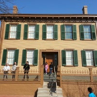 Photo taken at Lincoln Home National Historic Site by Bryan F. on 3/23/2013