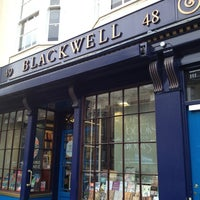 Photo taken at Blackwell's by Emre on 1/21/2013