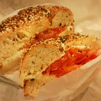 Photo taken at Izzy's Brooklyn Bagels by Ritzyl C. on 1/9/2013