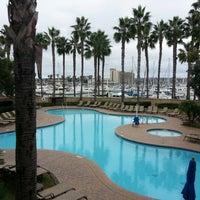 Photo taken at Sheraton San Diego Hotel & Marina by Frederick on 11/30/2012