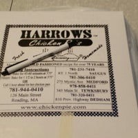Photo taken at Harrows Chicken Pies by Jonathan Coill on 11/7/2013