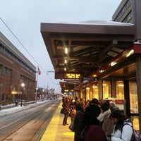 Photo taken at East Bank LRT Station by Dustin S. on 11/13/2014