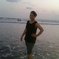 Photo taken at Kelwa Beach by Gurleen K. on 5/18/2013