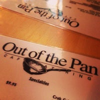 Photo taken at Out of the Pan by Saravanan S. on 9/8/2013