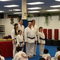 Photo taken at Deaton Karate Studio by David W. on 4/12/2014