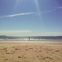 Photo taken at Playa de Valdelagrana by Mateo Robles M. on 5/7/2013