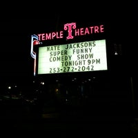 Photo taken at Temple Theatre by Aeja on 9/14/2013