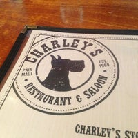 Photo taken at Charley's Restaurant & Saloon by Roman on 2/17/2013