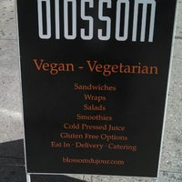 Photo taken at Blossom Du Jour by Chef P. on 8/27/2013