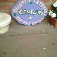 Photo taken at Pilates Estetica Centauro by Agustin M. on 2/20/2014