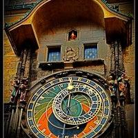 Photo taken at Prague Astronomical Clock by Omar Y. on 8/21/2013