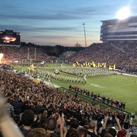 Photo taken at Ross-Ade Stadium by Alaina K. on 9/15/2013