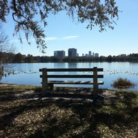 Photo taken at Lake Ivanhoe Park by Matt A. on 12/19/2012