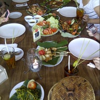 Photo taken at Jimbaran Bay Seafood by Edo A. on 6/5/2013