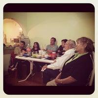 Photo taken at Taqueria La Morena de los Mixes by Claudia on 9/16/2012