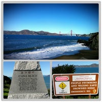 Photo taken at China Beach by Arin on 12/13/2012