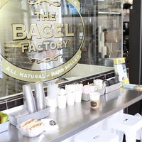 Photo taken at The Bagel Factory by The Bagel Factory on 7/6/2014