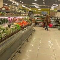 Photo taken at Супермаркет «ХЦ» by Иван Я. on 1/19/2013
