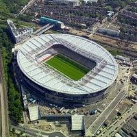 Photo taken at Emirates Stadium by Iman A. on 3/8/2013