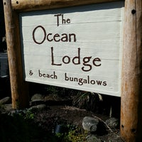 Photo taken at The Ocean Lodge by Tony on 9/28/2016