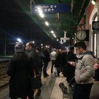 Photo taken at Stazione di Pompei by Angela on 12/14/2013