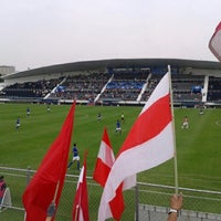 Photo taken at Estadio 10 de Diciembre by Andrey S. on 11/4/2012
