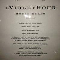 Photo taken at The Violet Hour by Derek C. on 1/18/2013