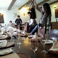 Photo taken at José Antonio Restaurante by Eduardo A. on 11/30/2012