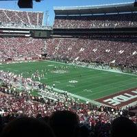 Photo taken at Bryant-Denny Stadium by Tessa on 11/17/2012
